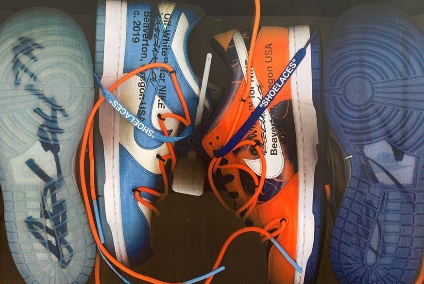 Virgil Abloh Nike Dunk Futura