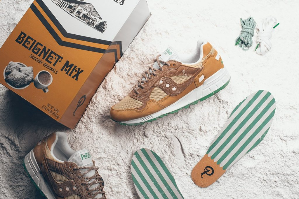 "The Sneaker Politics x Saucony Shadow 5000 ""Café Du Monde"""