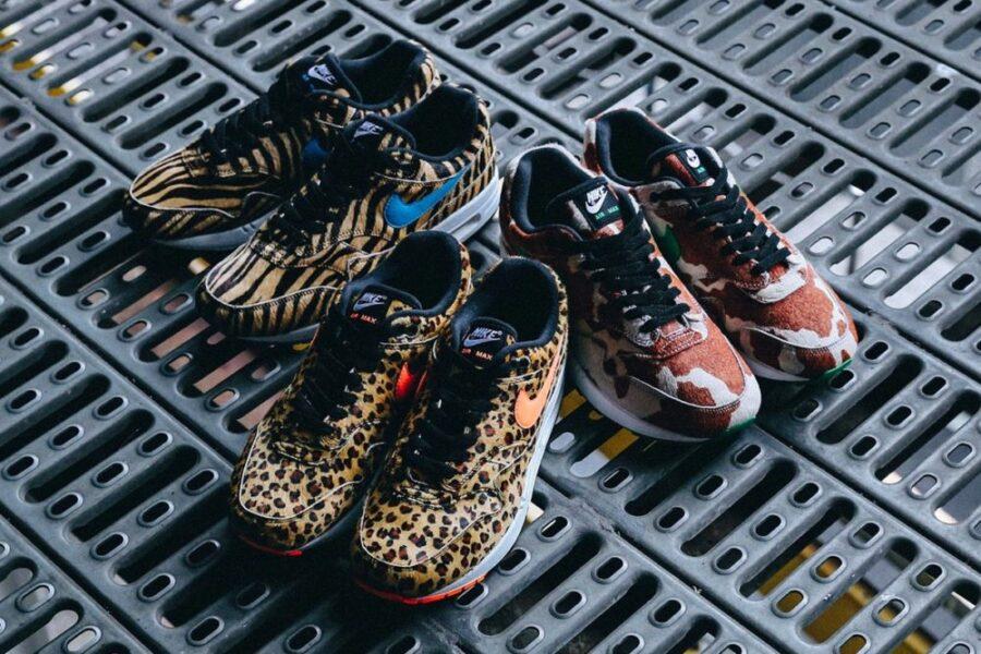 """Новая капсюльная коллекция Atmos & Nike Air Max 1 """"Animal 3.0"""""""