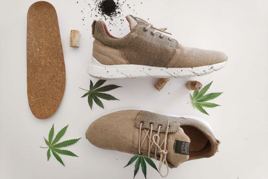 DopeKicks создает водонепроницаемые кроссовки из конопли