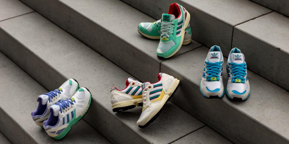 Adidas отмечает 30 лет моделям ZX Torsion