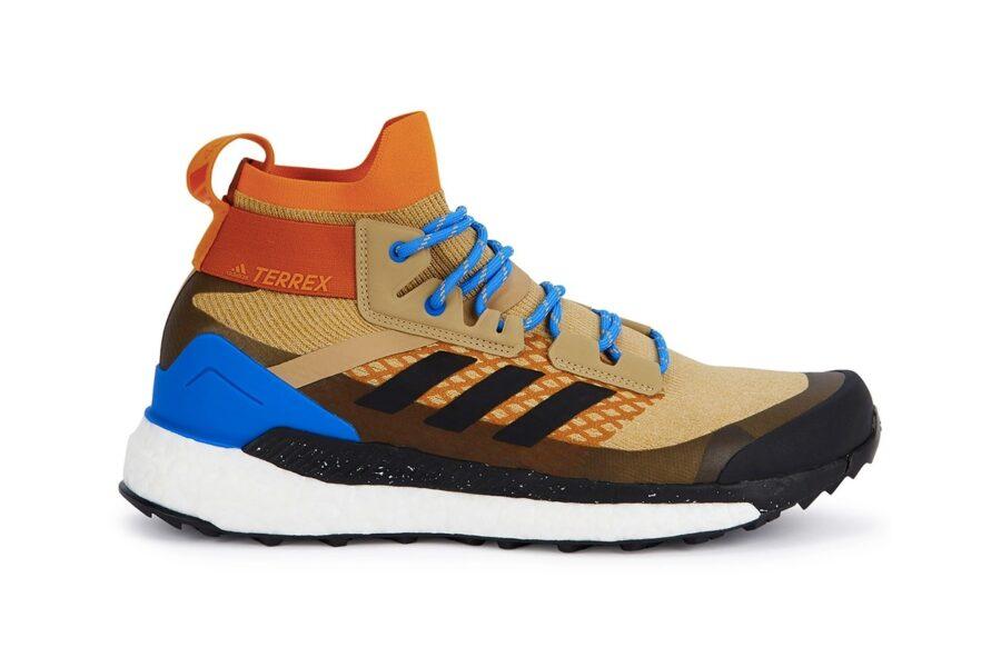 Adidas представил сливочно-бежевую Terrex Hiker Primeknit