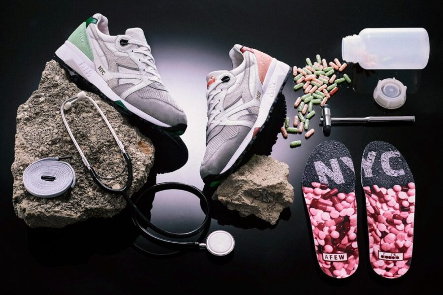 "AFEW x Diadora N.9000 ""Highly Addictive"""