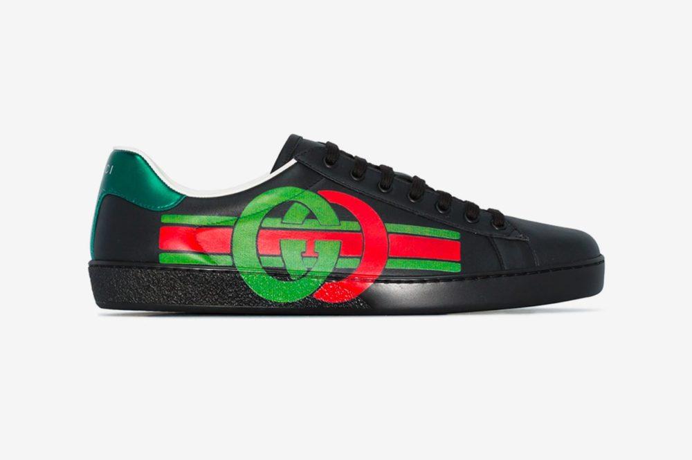 Gucci выпускает Ace в культовых цветах