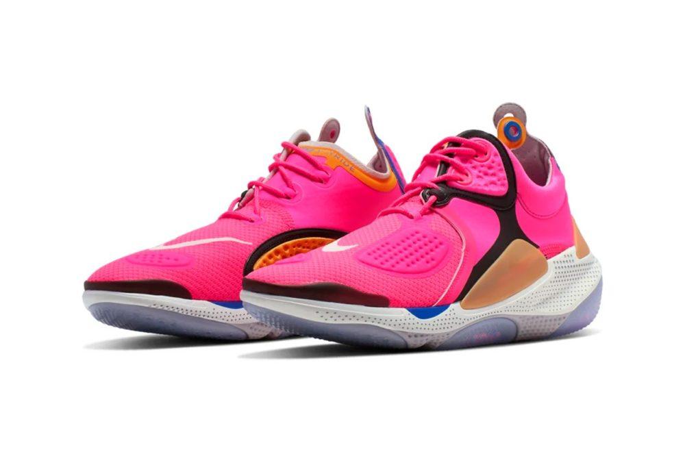"""Nike примеряет на новую модель Joyride NSW яркую палитру """"Hyper Pink"""""""