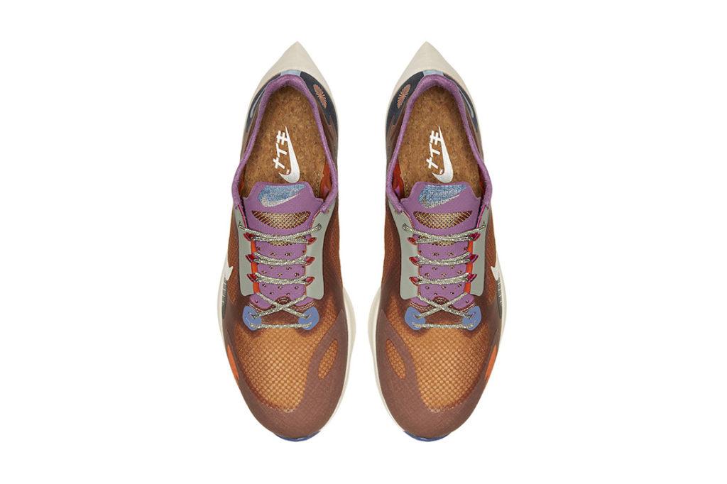 Особенность материала пробки Nike Vapor Street PEG