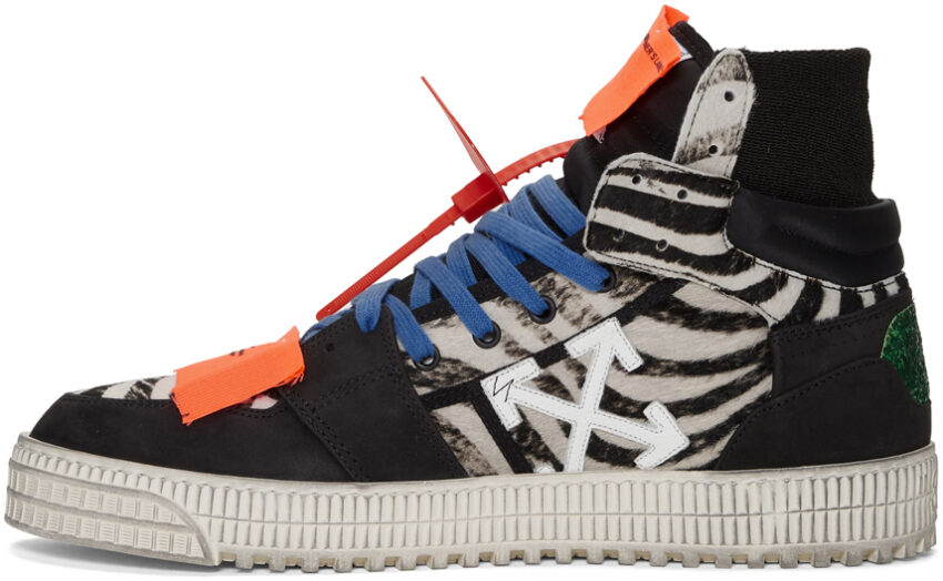 "Off-White модель Off-Court 3.0 ""All Over Black"""