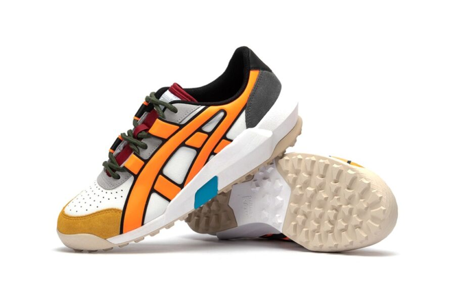"Onitsuka Tiger - Big Logo Trainer ""Shocking Orange"""