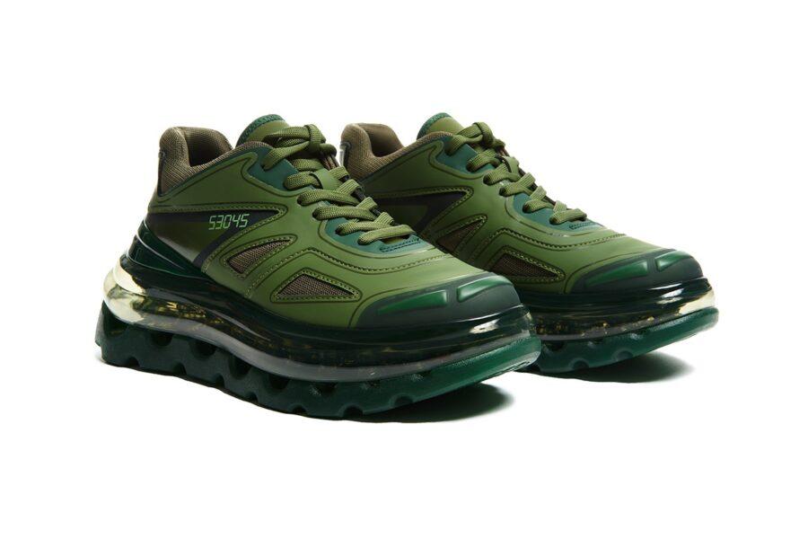 "Shoes 53045 представляет массивные Bump'Air ""Green Giant"""
