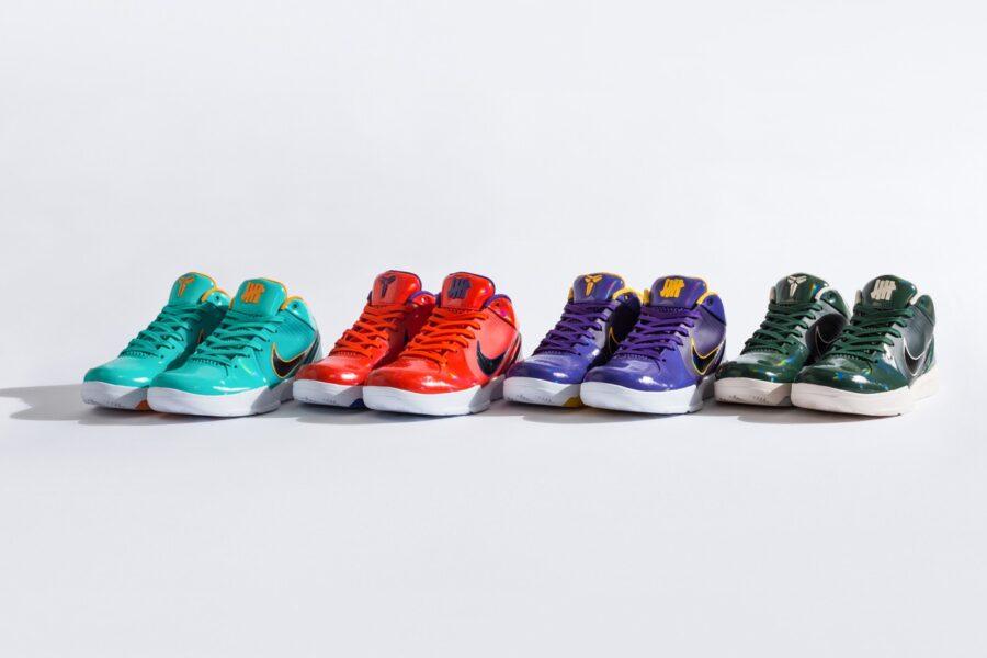 UNDEFEATED x Nike Zoom Kobe 4 Protro Pack