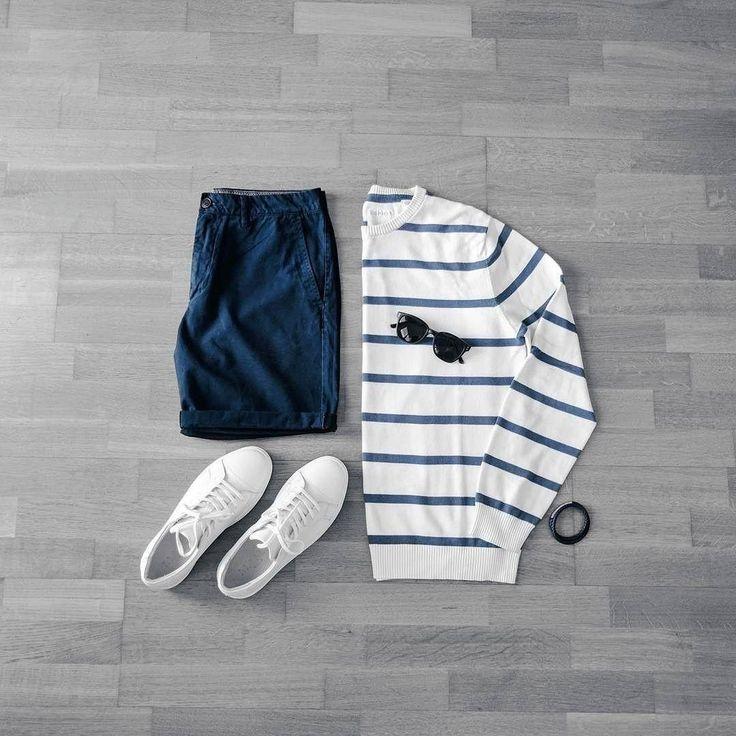 Как носить Шорты и кроссовки