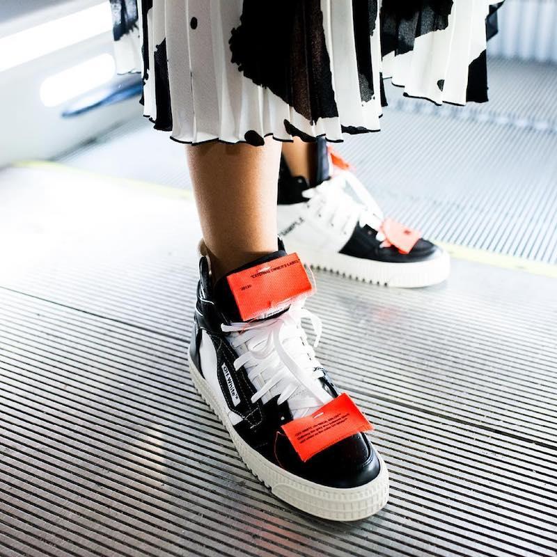 Как правильно мерить кроссовки