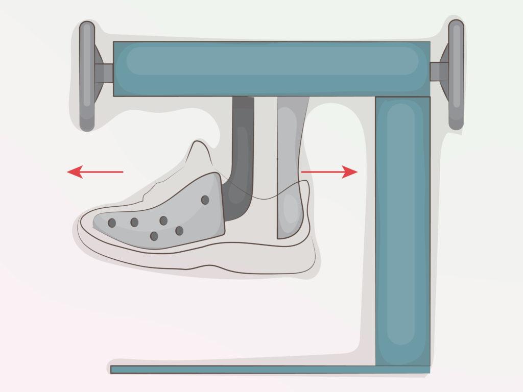 Довериться профессиональному мастеру для увеличения размера кроссовок