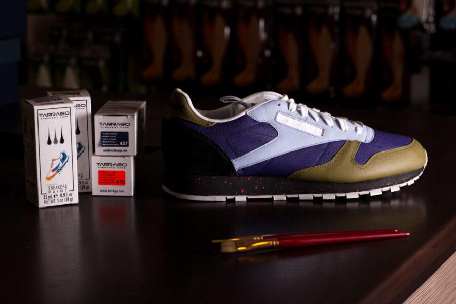 Как покрасить кроссовки. Какую краску выбрать. Особенности материалов
