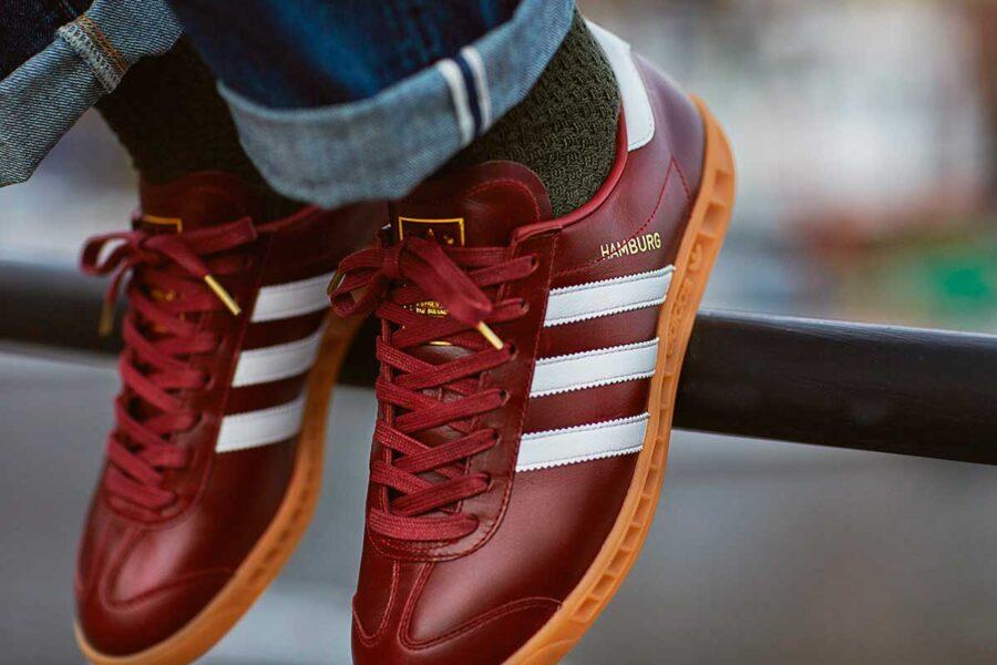 История кроссовок Adidas Hamburg