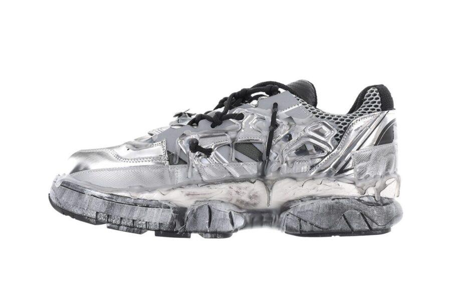 Металлизированные Maison Margiela Fusion Low Sneaker