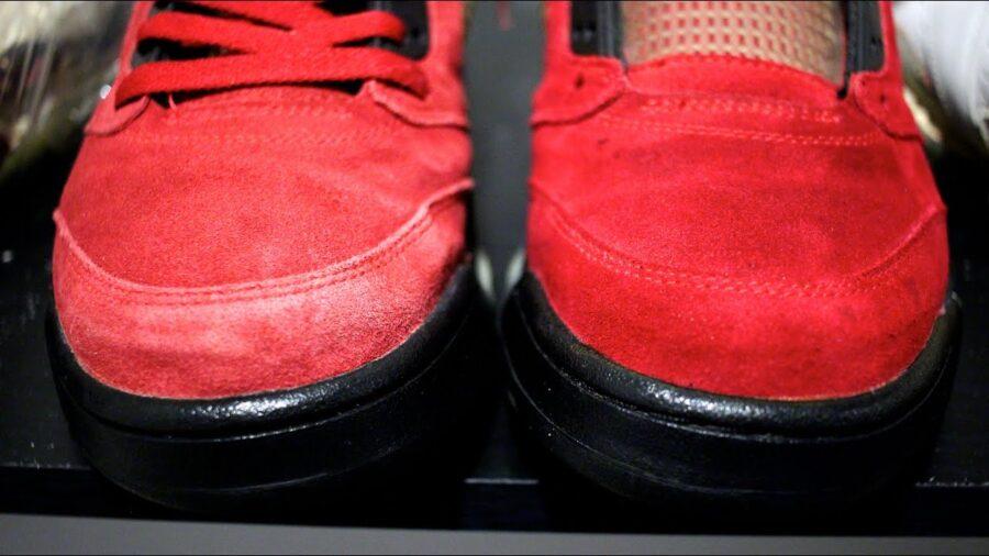 Как чистить замшевые кроссовки, чтобы они приобрели первоначальный вид
