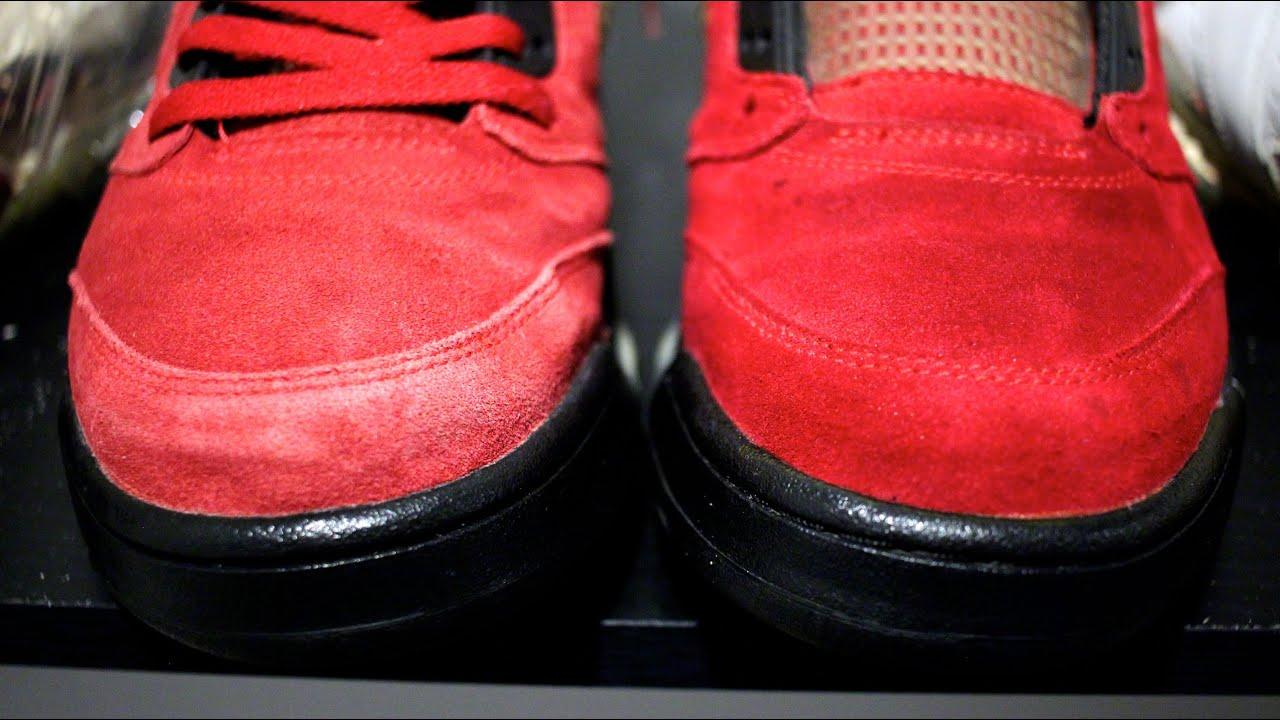 Как отстирать замшевые кроссовки