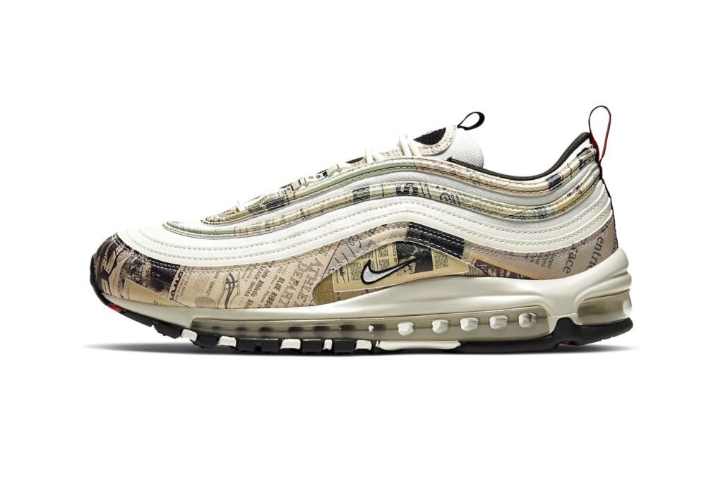 Кроссовки Nike Air Max 97 «Newspaper»