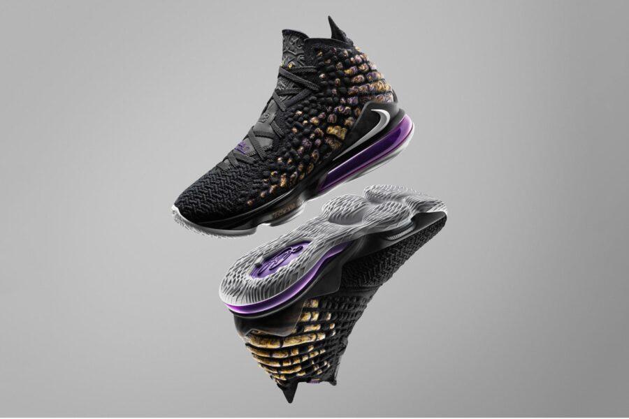 "Nike представил LeBron 17 с новой технологией ""Knitposite"""