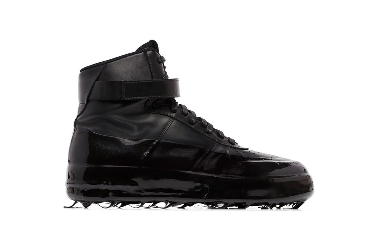 Прорезиненные кроссовки от бренда 424