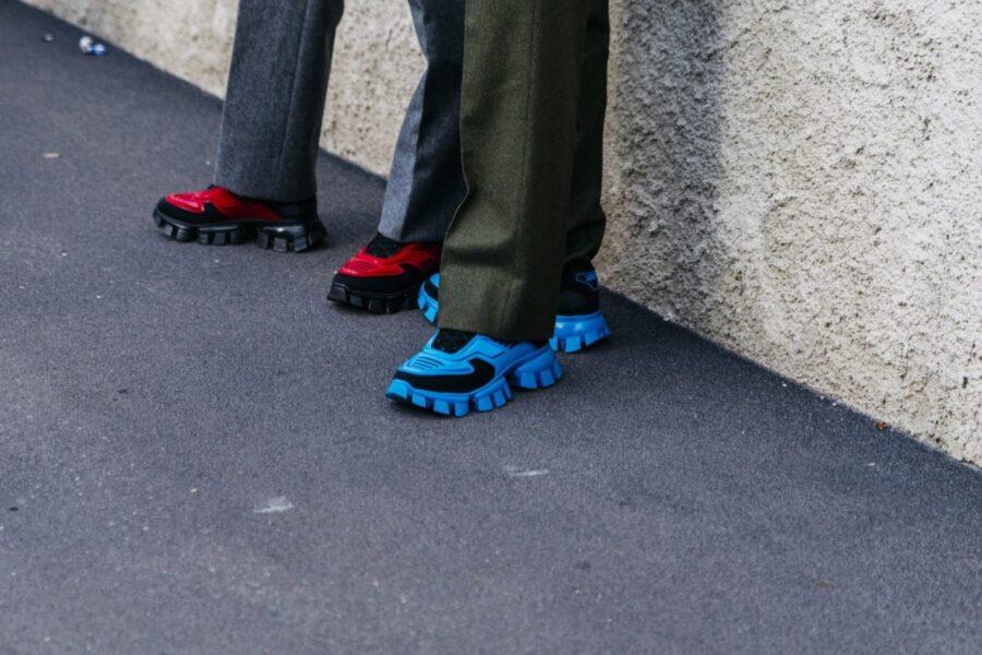 Лучшие кроссовки замеченные на Миланской неделе моды SS20