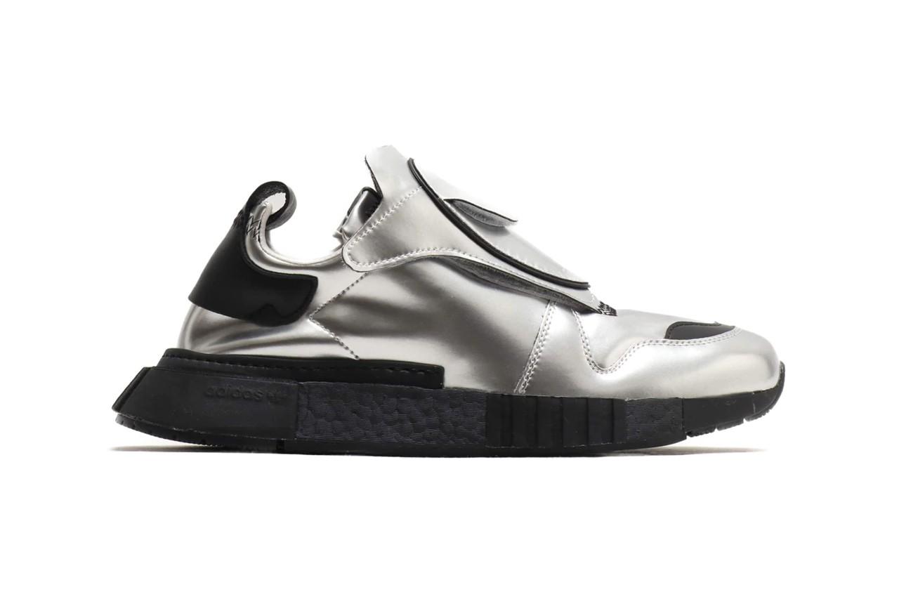 Обновленные кроссовки Futurepacer от Adidas Originals в цвете металлик