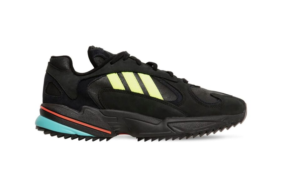 Осенние Adidas Originals Yung-1 с прочной ребристой подошвой