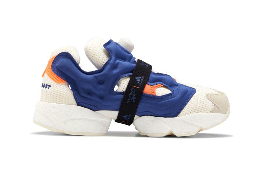 Официальный релиз Reebok x adidas Instapump Fury BOOST