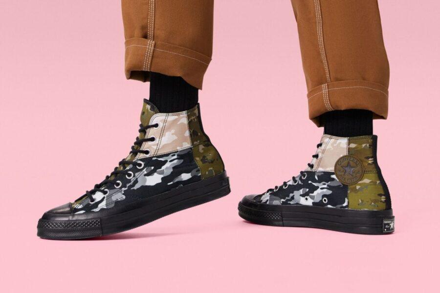 С чем носить кеды Converse