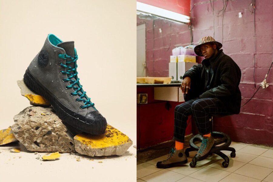 Converse представляет вторую сезонную коллекцию кроссовок для холодной погоды