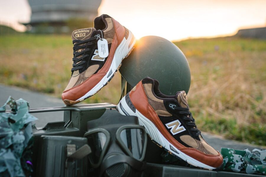 "New Balance M991SOP ""Camo Pack"""