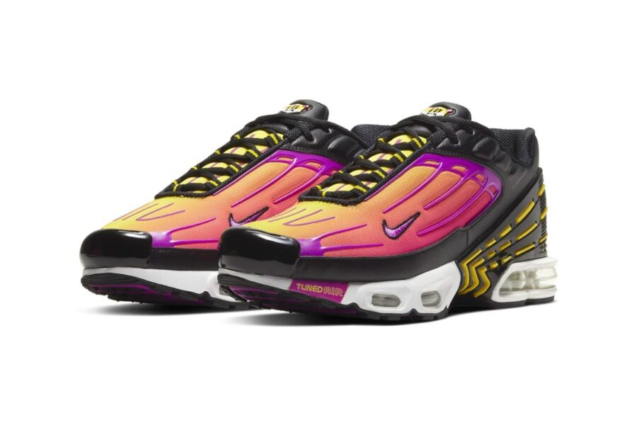 "Nike Air Max Plus 3 ""Dynamic Yellow/Hyper Violet"""