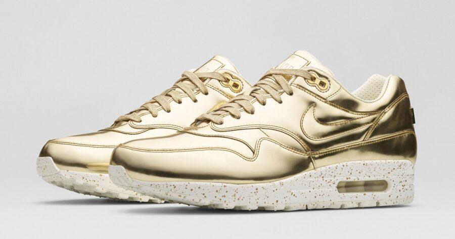 Золотые оттенки в кроссовках. Почему этот цвет так популярен у девушек