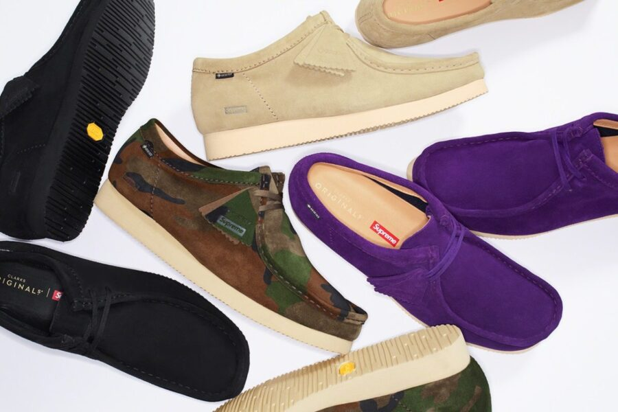 Supreme x Clarks Originals