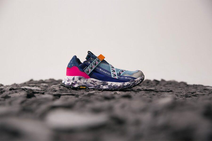 New Balance выпустили кроссовки с использованием остатков материалов - PRJ 3.0