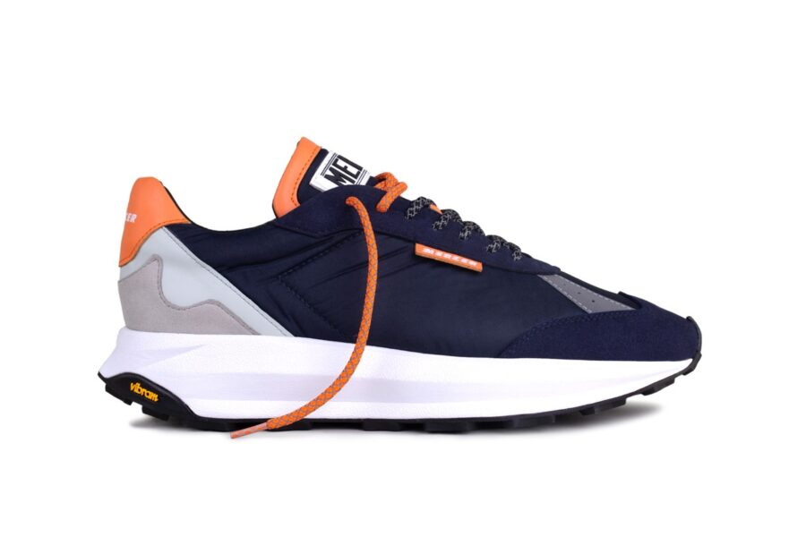 "Mercer Amsterdam Racer ""Navy/Orange"""