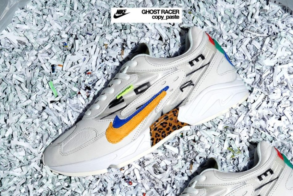"""Nike Air Ghost Racer """"Copy-Paste"""" & size?"""