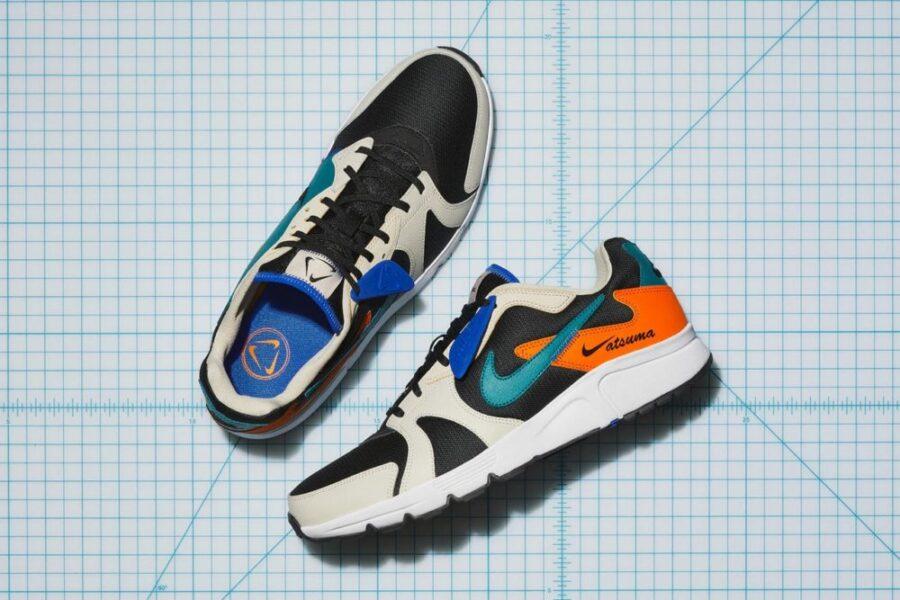 Nike Atsuma - эффективное использование обрезков в кроссовках