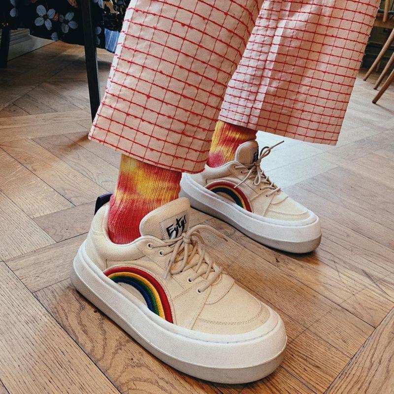 длинные носки под кроссовки