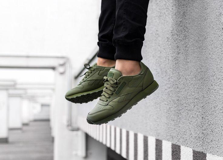 темно зеленые кроссовки