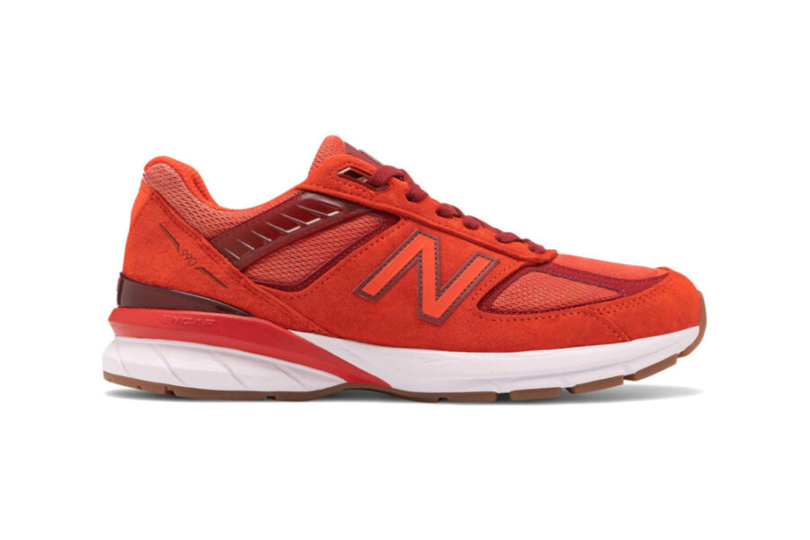"New Balance 990v5 ""Molten Lava/Fireball"""