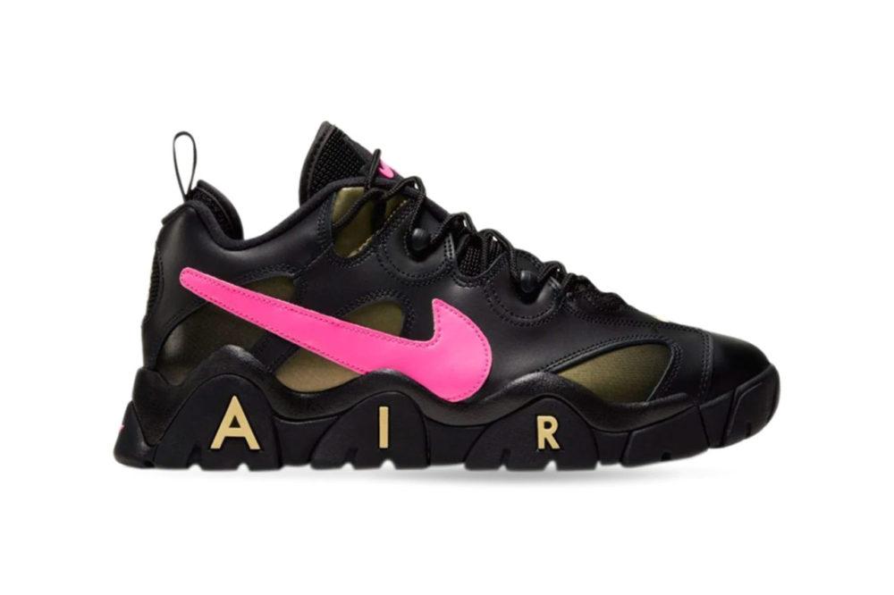 "кроссовки Nike Air Barrage Low ""Infinite Gold/Pink Blast"""