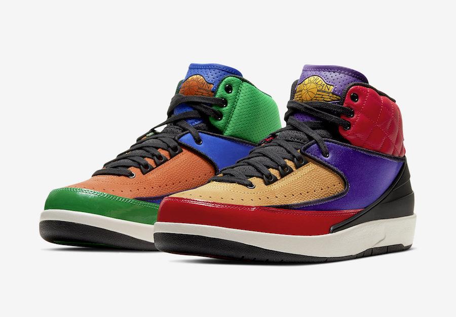 Air Jordan 2 Multicolor