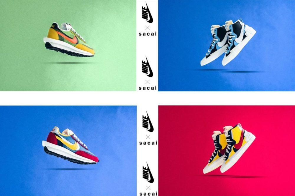 История сотрудничества sacai x Nike