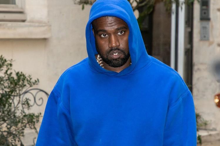 Kanye West появился в обуви из YEEZY Season 8