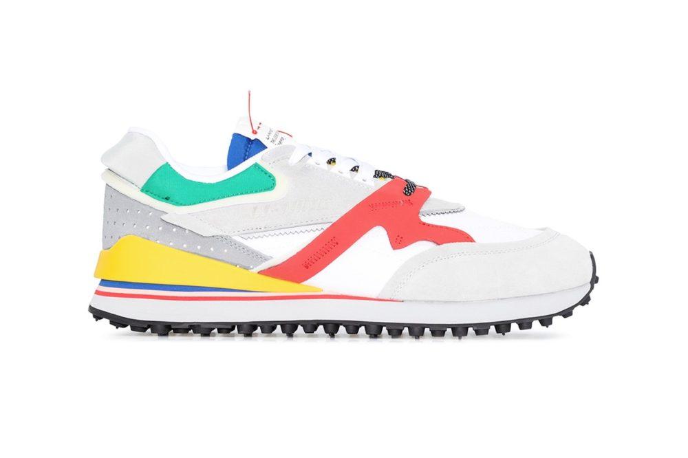 Ретро кроссовки LI-NING Momen Multicolor