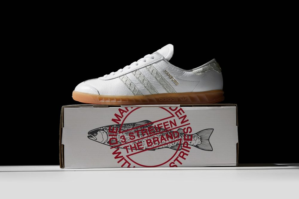 "Кроссовки Adidas Originals Hamburg ""Fish Market"""