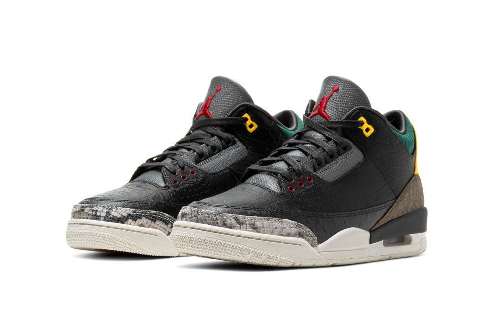 """Премиальные кроссовки Air Jordan 3 """"Animal Instinct 2.0"""""""