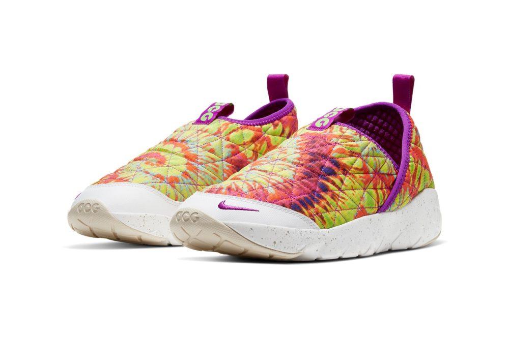 """Гибридные кроссовки Nike ACG Moc 3.0 """"Tie-Dye"""""""
